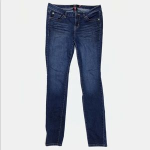 Torrid plus size extra tall denim skinny jeans XT